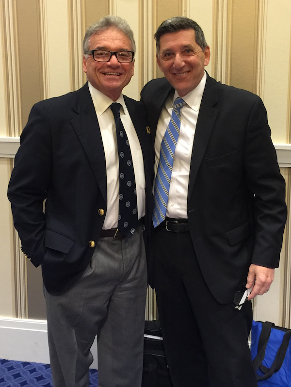 Dr. Mark Gold with Michael Botticelli, Director of the White House Office of National Drug Control Policy.