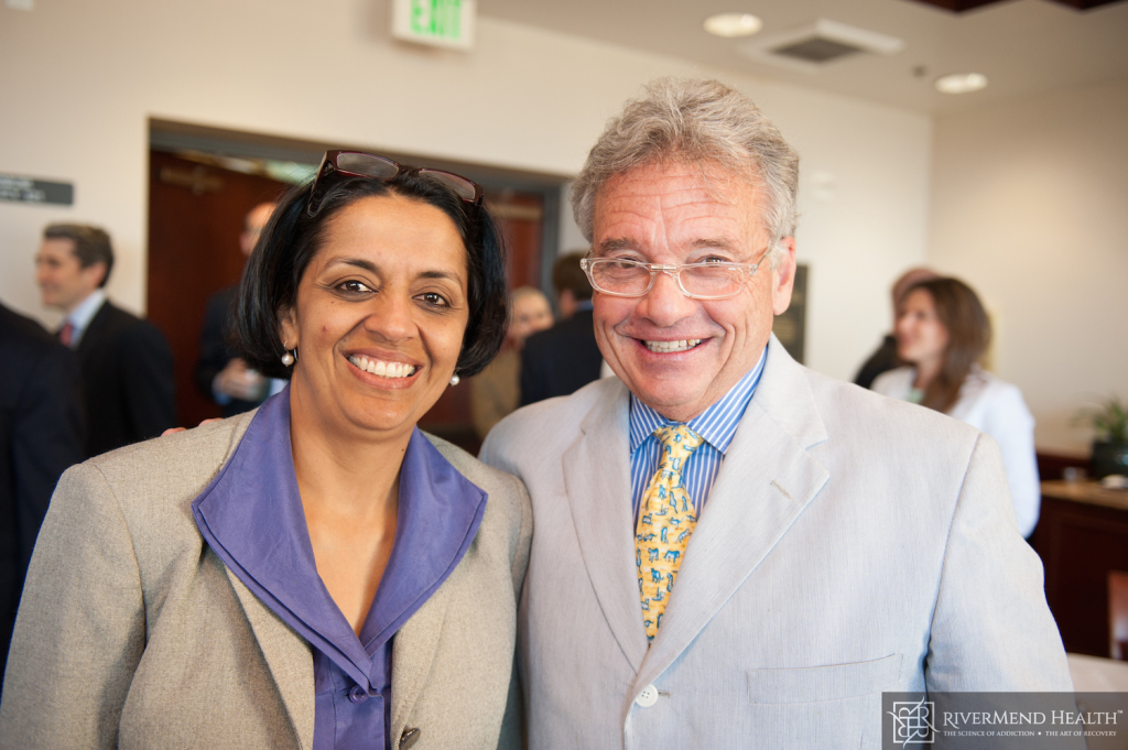 Rajita Sinha, Ph.D. of Yale University and Dr. Mark Gold