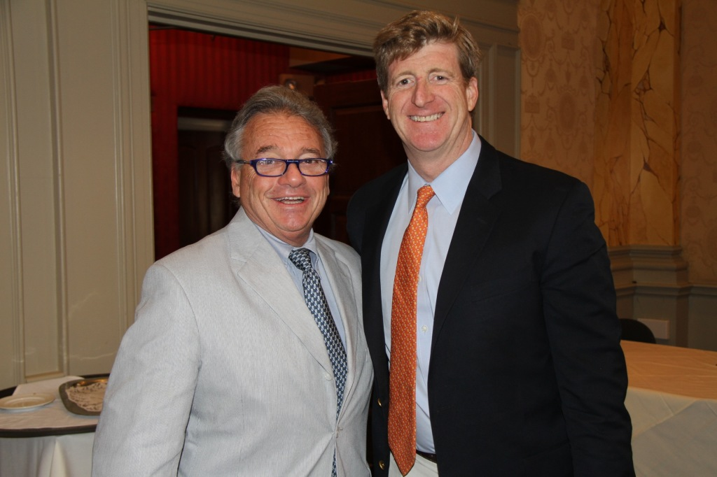 Dr Mark Gold & Patrick Kennedy work for addiction parity in Washington, DC 2014