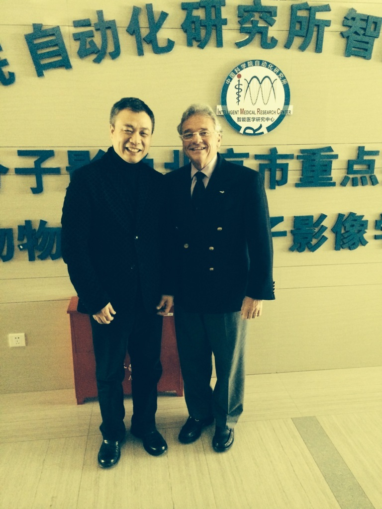 Dr. Mark Gold at the China Academy of Sciences