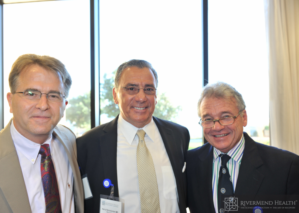 Dr. Paul Earley, Dr. Harry Haroutunian & Dr. Mark Gold