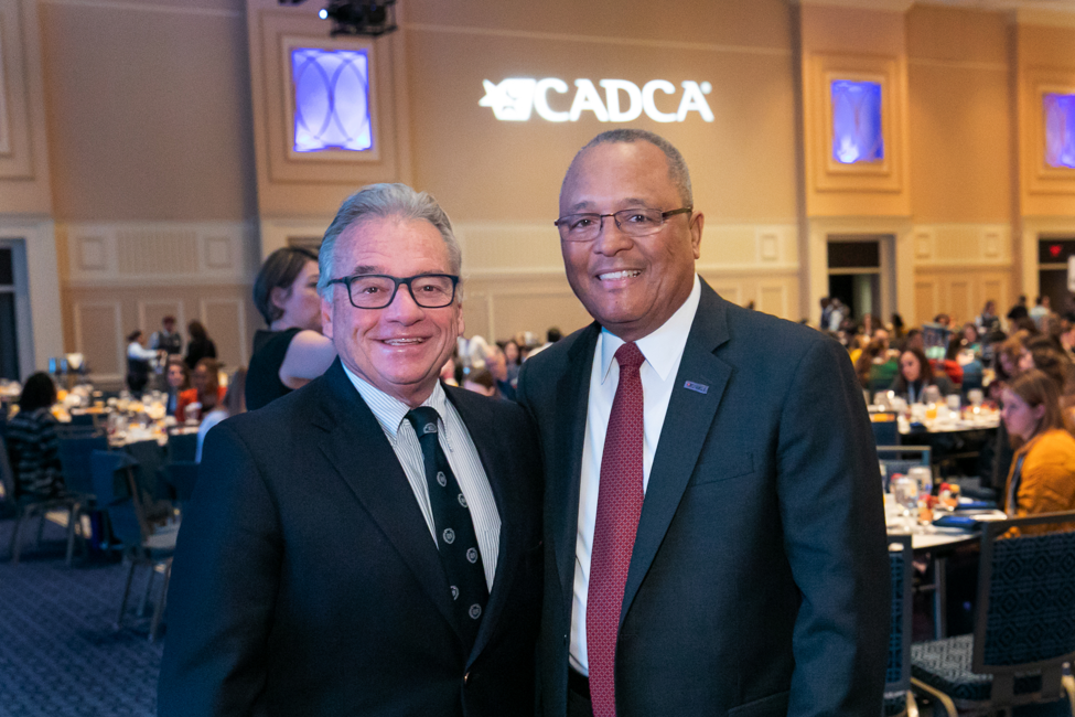 Mark Gold, MD with General Art Dean CEO of CADCA