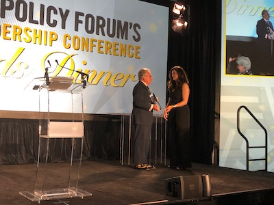 2019 Dr Mark Gold receives Addiction Policy Forum Pillar of Excellence Award for Research